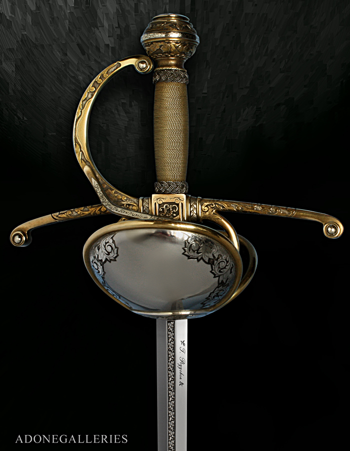 musketeer cover rapier sword
