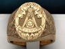 Past Master ring engraved