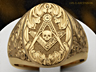 The Ascension Mason ring